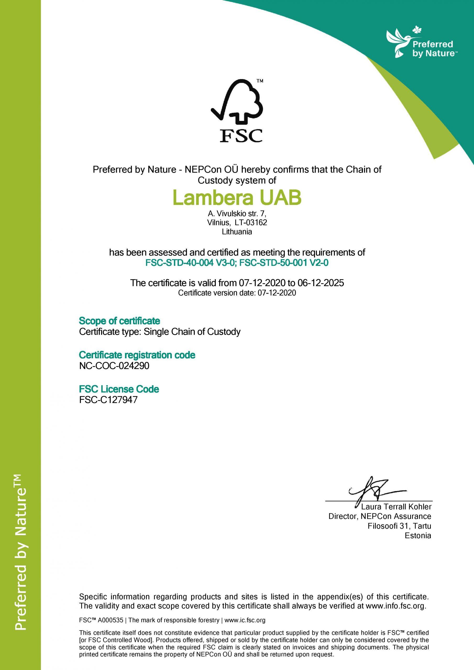 FSC_sertifikatas